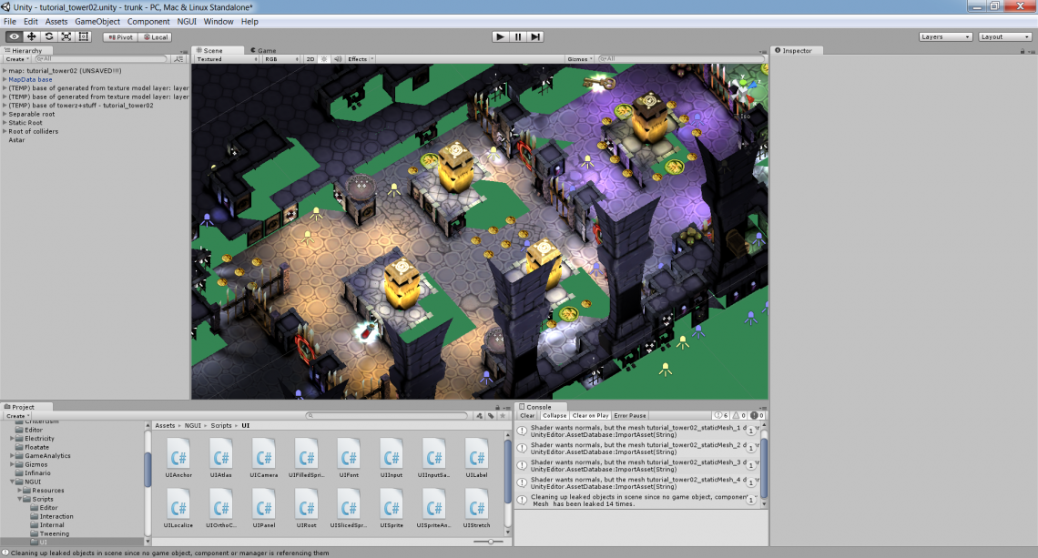2015-05-16 18_38_53-Unity - tutorial_tower02.unity - trunk - PC, Mac & Linux Standalone_